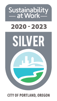 Silver Sustainability at Work Badge
