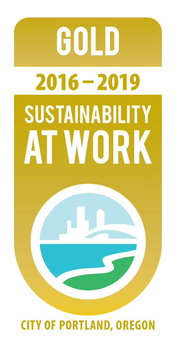 Gold Sustainability at Work Badge