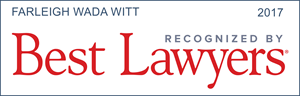 FWW Attorneys Listed in the Best Lawyers in America 2017